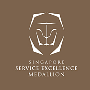Singapore Service Medallion Logo